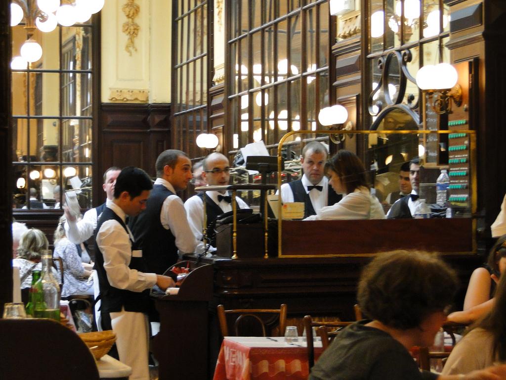 Busy Restaurant Scene