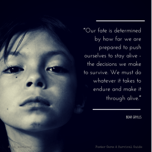 """Our fate is determined by how far we"